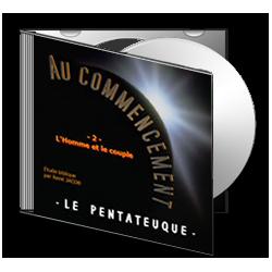 Au Commencement, sur CD - 2. L'homme et le couple [ Gn 1-2 ]