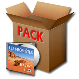 L'ensemble des Prophètes d'avant l'Exil, sur CD