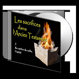 Les Sacrifices, sur CD - 7. Au centre du culte, l'autel