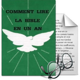 Comment lire la Bible en un an