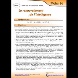 54 - Le renouvellement de l'intelligence