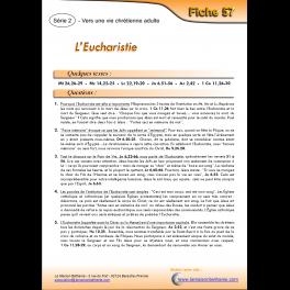 57 - L'Eucharistie
