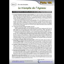 106 - Le triomphe de l'Agneau
