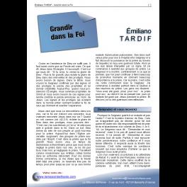 Émiliano TARDIF - Grandir dans la Foi