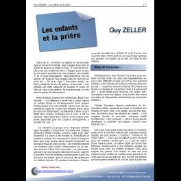 Guy ZELLER - Les enfants et la prière