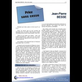 Jean-Pierre BESSE - Priez sans cesse