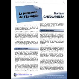 Raniero CANTALAMESSA - La puissance de l'Évangile