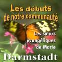 Les sœurs de DARMSTADT - Les débuts de notre communauté
