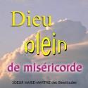 Sœur MARIE-MARTHE - Dieu plein de miséricorde
