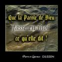 Pierre et Laurence GILISSEN - Que la Parole fasse en moi ce qu'elle dit