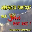 Geneviève BERNADAT - Annoncer partout que Jésus est Roi