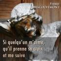 Pierre DESCOUVEMONT - Si quelqu'un m'aime, qu'il prennne sa croix et me suive