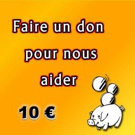Faire un don de 10 €.