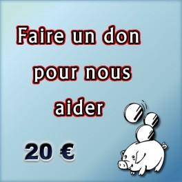 Faire un don de 20 €.