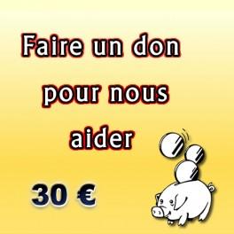 Faire un don de 30 €.